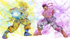 Dbz Vs Ssf by Koi-Arts