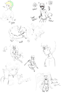 The Sketch Page by okamixcosplayer