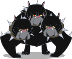 Cerberus - Guardian of the Gates of Tartarus by the-well-man