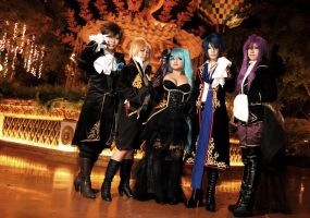 VOCALOID Sandplay: Group by LUNARU