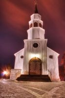 White Church HDR by evrengunturkun