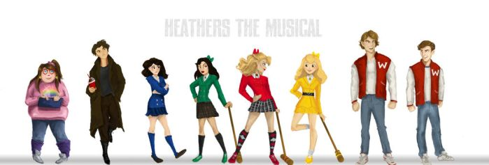 Heathers the Musical - Cast line up by HILLYMINNE