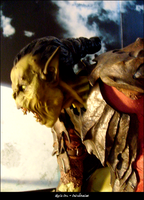 Moria Orc Lord of The Rings by onivalentine