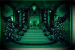 Creepy Mansion by egyptianpanda