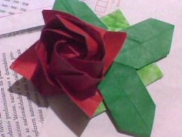 Origami Rose- kawaki by Taysk