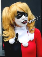 Harley Quinn Cosplay - Say What? by SailorMappy