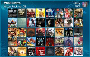 Windows 8 Metro Aicon Pack 39 by HarryBana