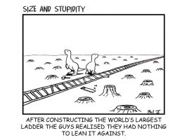 Size and Stupidity by Size-And-Stupidity