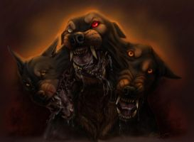 Cerberus vol2 (colors) by SteelC
