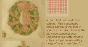 Drawing Plaid Fabric by cambium