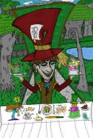 The Mad Hatter by chrislightning