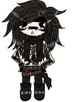 Chibi Andy Is Not Amused Color by LuciferxMorningStar