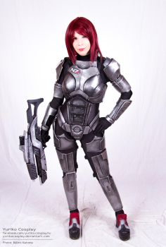 Female Shepard by YurikoSeira