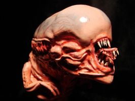 Chestburster close-up by Santani