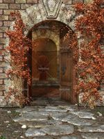 Castle Entrance by Trisste-stocks