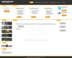 Hosting Template about us by w3nky