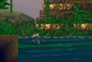 Jungle Swamp by alexmakovsky