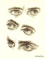 Eyes of Jared Leto by thesimplyLexi