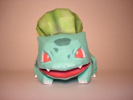Bulbasaur Papercraft by Skele-kitty