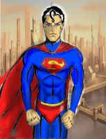 Superman by Colour-of-Dreams