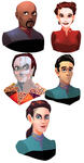 ds9 doodle dump by Shalmons