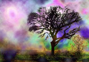 Atmospheric Tree by LindArtz