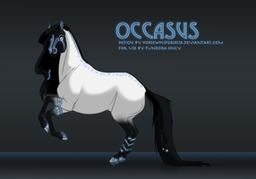 Occasus - Design Commission by Whisperah
