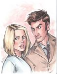The Doctor and Rose by eightbreeze