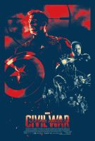 Captain America: Civil War Poster by TouchboyJ-Hero