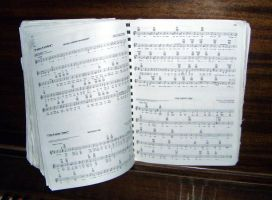 music book - piano by emmy-stock