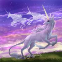 The Last Unicorn by Imanika