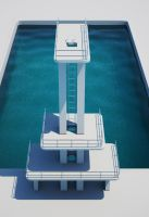 Diving Pool 2nd render by demenu