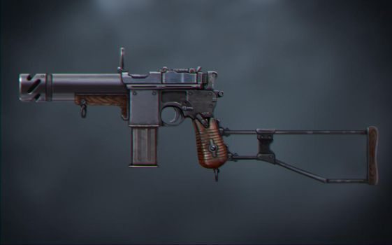 Mauser Sketch by Matiush83