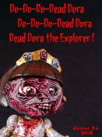 Dead Dora The Explorer Poster by Undead-Art