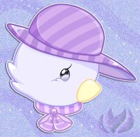 Hatted Bird by raininess