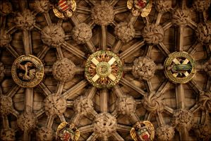 St Giles' Cathedral, The Thistle Chapel, Edinburgh by tamaskatai