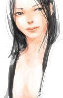 warm-up asian girl by 89g