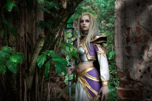 Jaina Proudmoore. Theramore's Fall by DenikaKiomi
