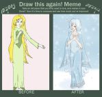 Draw-This-Again-Meme: Snow-maiden by Kabuto-bug