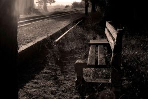 At the station by fanbes