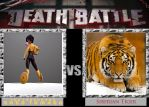 GoGo Tomago versus Siberian Tiger: A Death Battle by timbox129
