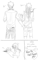 the daily life of Gian and Hau by minghii
