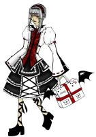 Gothic Lolita Design Contest by saltedeffey