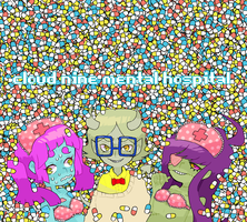 Lotsa Pills by motherfuckingkawaii