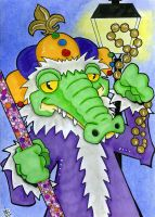 Let the Good Times Roll - King Gator by 10th-letter