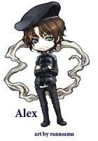 Chibi Alex By rannsama by Foxssed