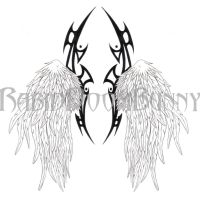 Tribal Wings by RabidDoomBunny