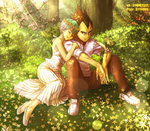 Love garden by Cygnetzzz