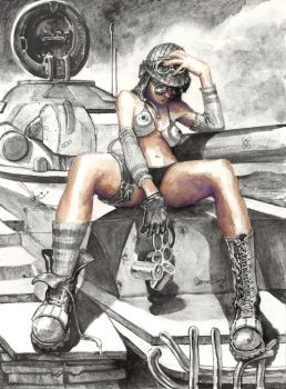 Tank Girl by DanielGovar