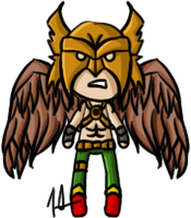 DC - Hawkman by shrimp-pops